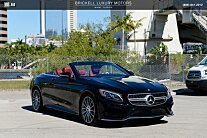 2017 Mercedes-Benz S550 Cabriolet for sale 100940413