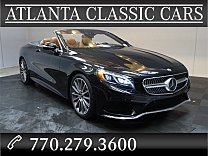 2017 Mercedes-Benz S550 Cabriolet for sale 100945332