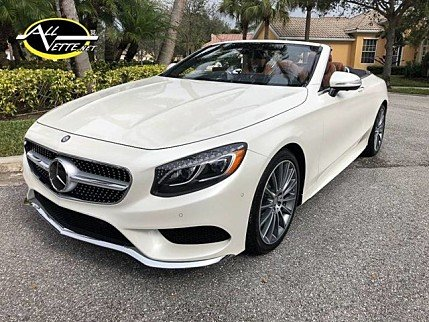2017 Mercedes-Benz S550 Cabriolet for sale 100951938