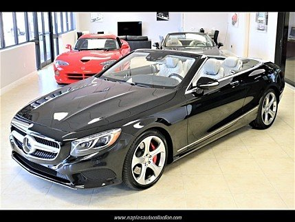 2017 Mercedes-Benz S550 Cabriolet for sale 100985833
