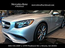 2017 Mercedes-Benz S63 AMG 4MATIC Cabriolet for sale 100800136