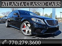 2017 Mercedes-Benz S63 AMG 4MATIC Sedan for sale 100839051