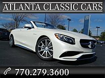 2017 Mercedes-Benz S63 AMG 4MATIC Cabriolet for sale 100840959