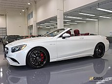 2017 Mercedes-Benz S63 AMG 4MATIC Cabriolet for sale 101030462