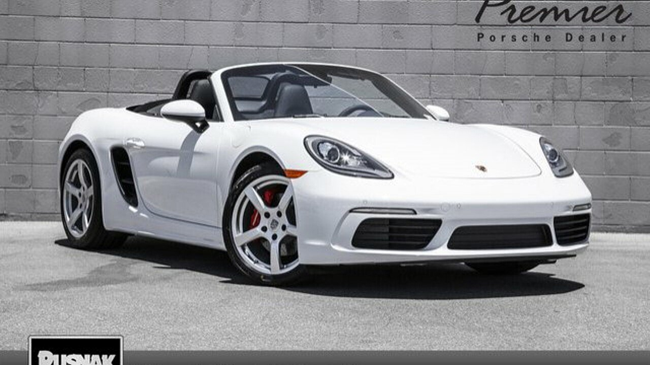 2017 Porsche 718 Boxster for sale 100916827