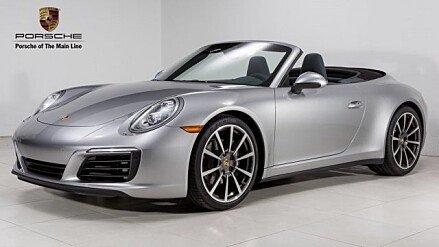 2017 Porsche 911 Carrera Cabriolet for sale 100858041