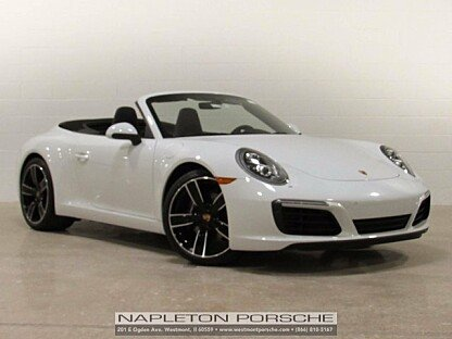 2017 Porsche 911 Carrera Cabriolet for sale 100867305