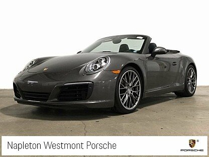 2017 Porsche 911 Carrera Cabriolet for sale 101003594