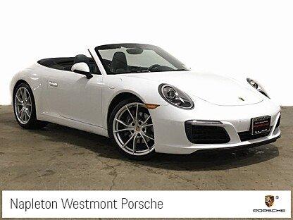 2017 Porsche 911 Carrera Cabriolet for sale 101040763