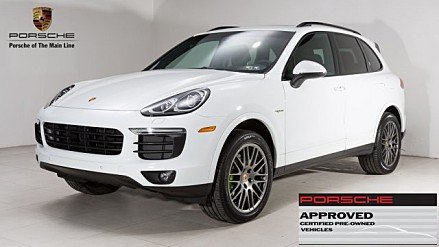 2017 Porsche Cayenne S E-Hybrid for sale 100858103