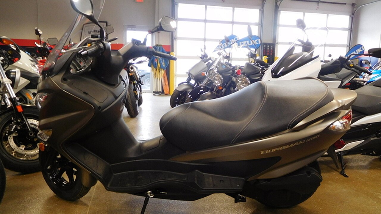 2017 Suzuki Burgman 200 ABS for sale 200521296