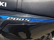 2017 Suzuki DR200S for sale 200500854