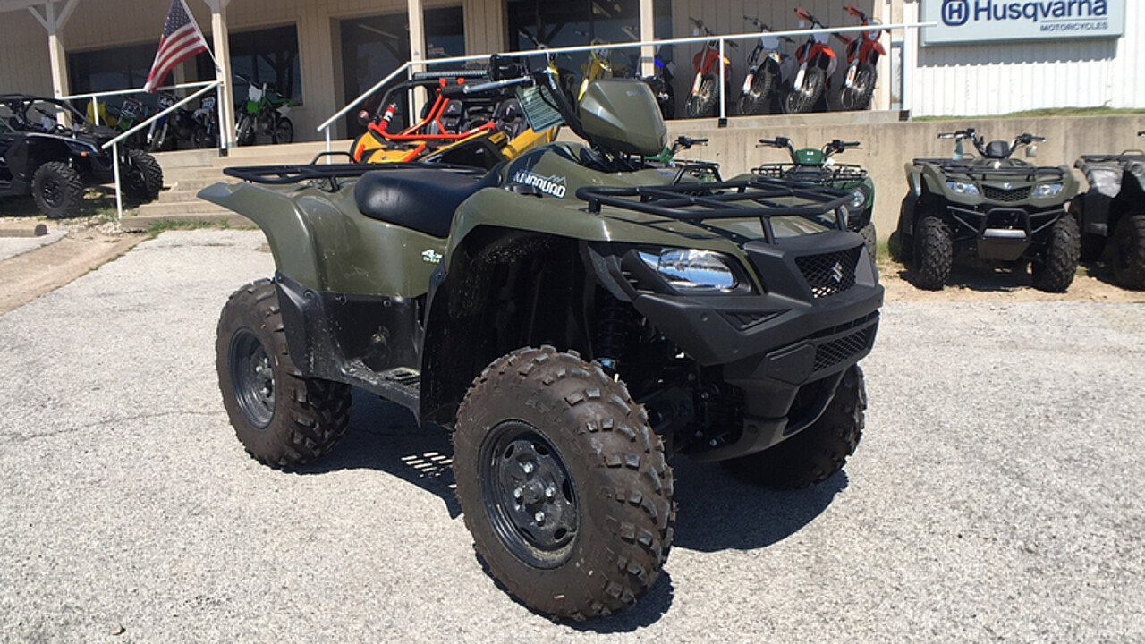 2017 Suzuki KingQuad 500 for sale 200437259
