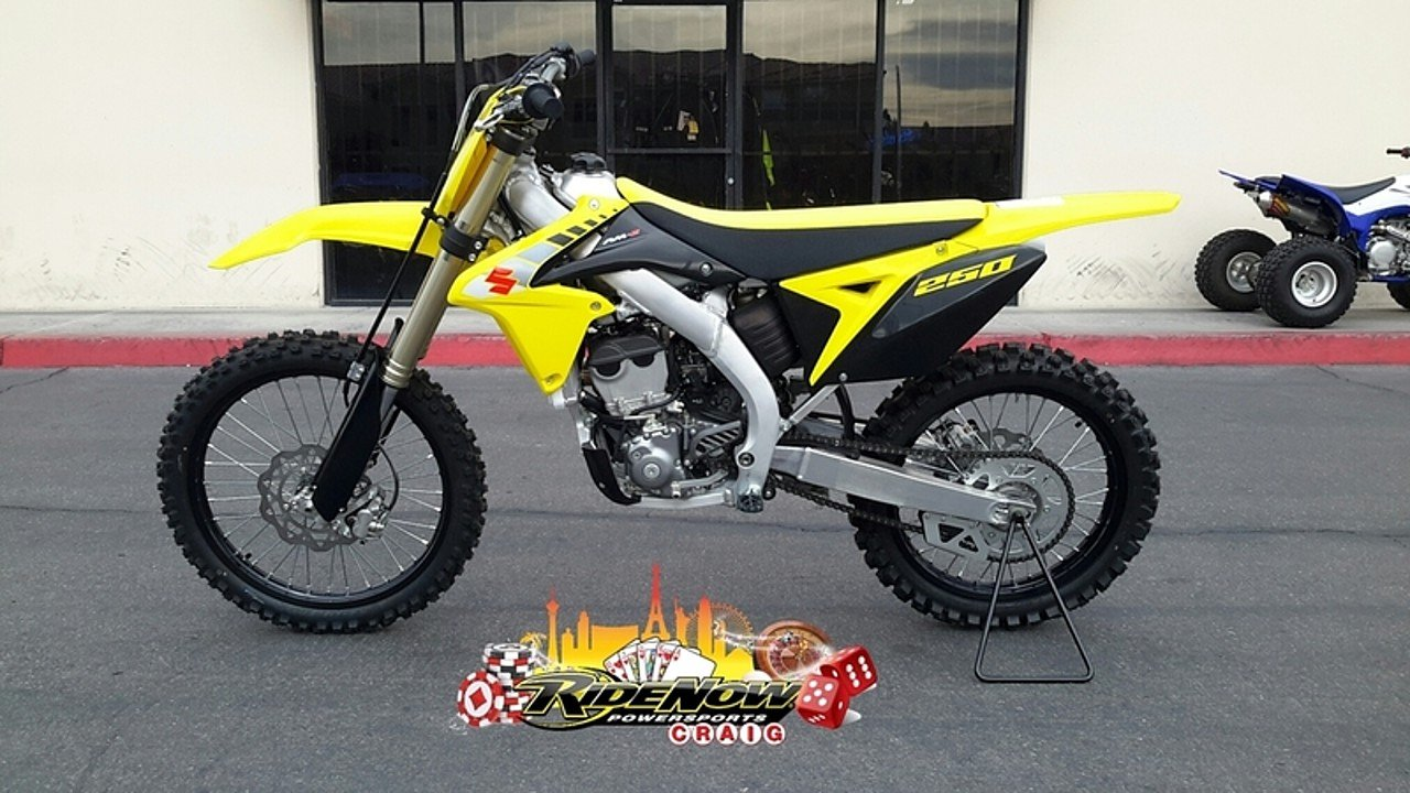 2017 Suzuki RM-Z250 for sale 200452300