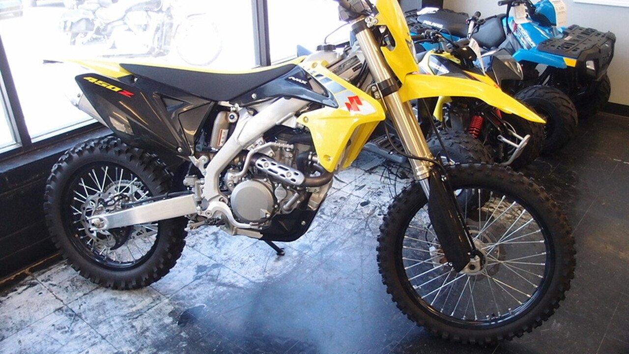 2017 Suzuki RMX450Z for sale 200409333