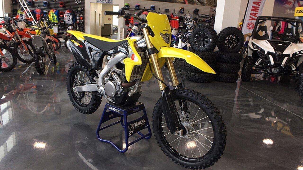 2017 Suzuki RMX450Z for sale 200453253