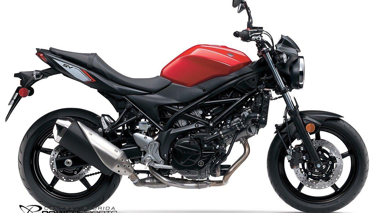 2017 Suzuki SV650 for sale 200374045