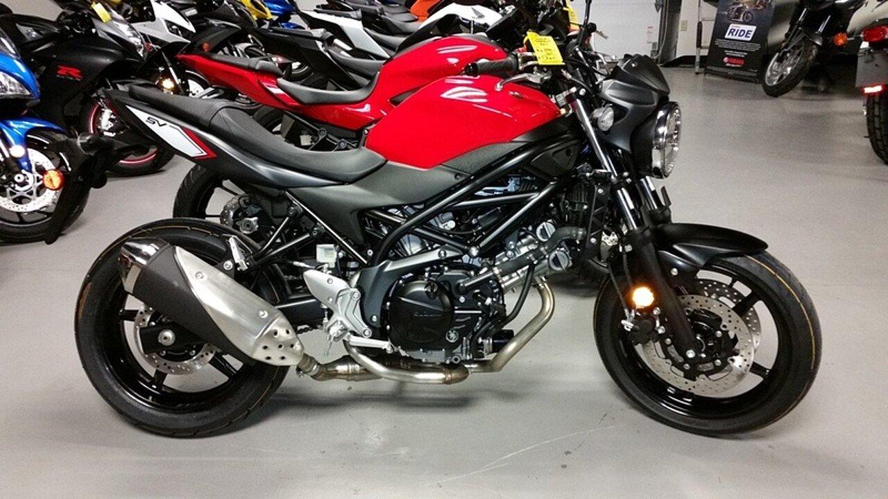 2017 Suzuki SV650 for sale 200444155