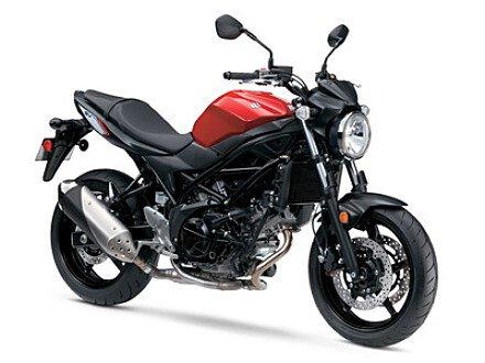 2017 Suzuki SV650 for sale 200371919