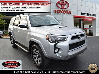 2017 Toyota 4Runner 4WD for sale 100929991