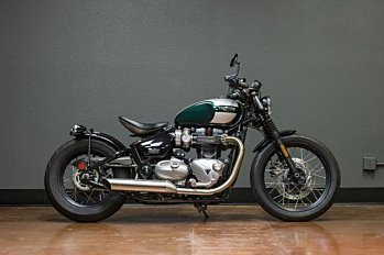 2017 Triumph Bonneville 1200 Bobber for sale 200577107