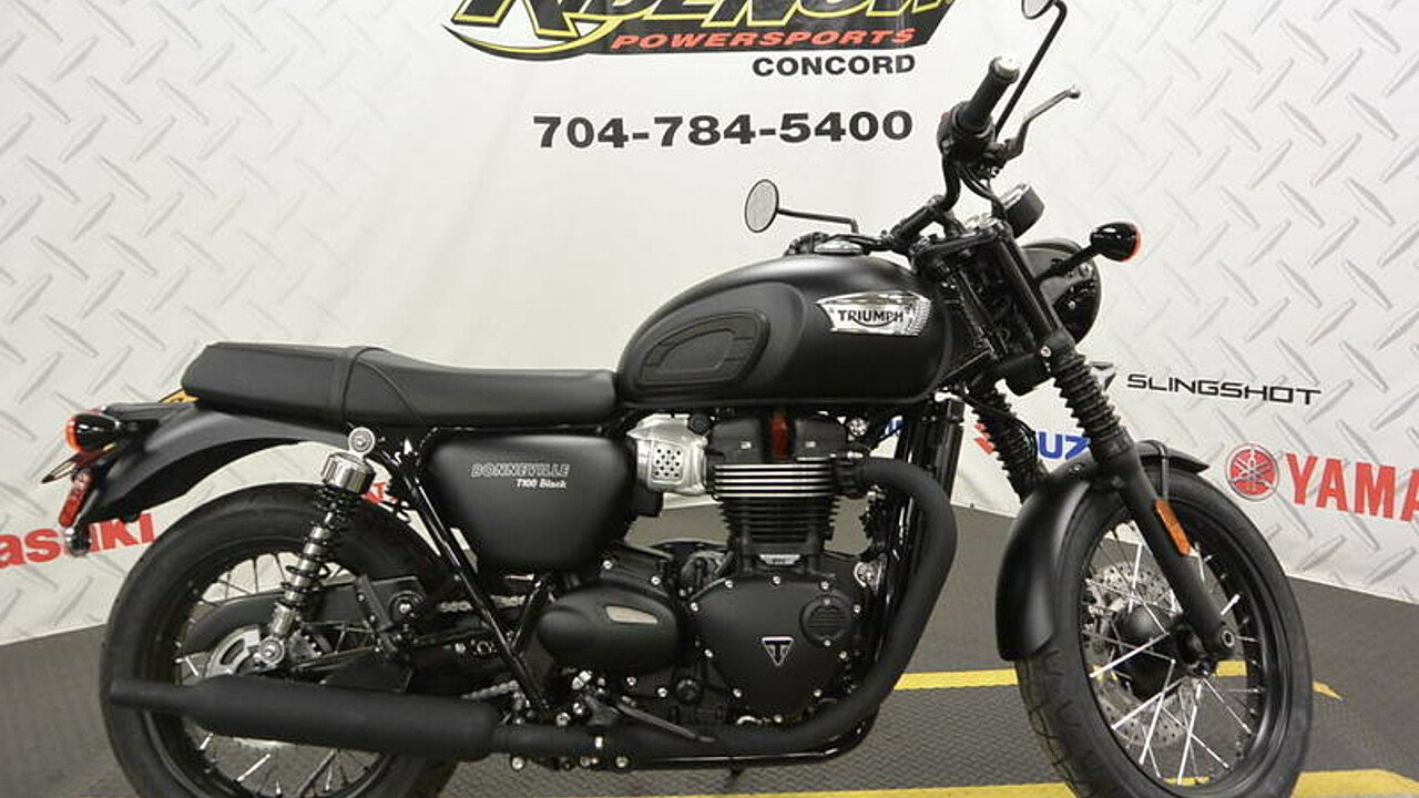 2017 Triumph Bonneville 900 for sale 200487030