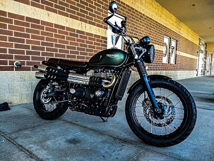 2017 Triumph Street Scrambler for sale 200632898