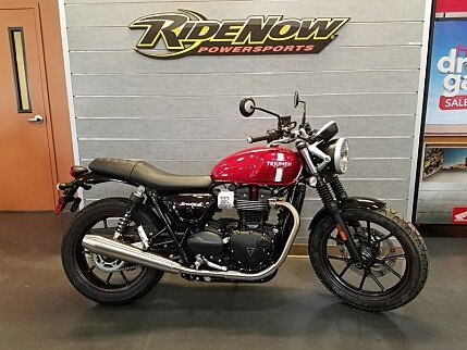 2017 Triumph Street Twin for sale 200435252