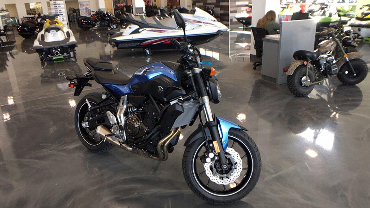 2017 Yamaha FZ-07 for sale 200478139