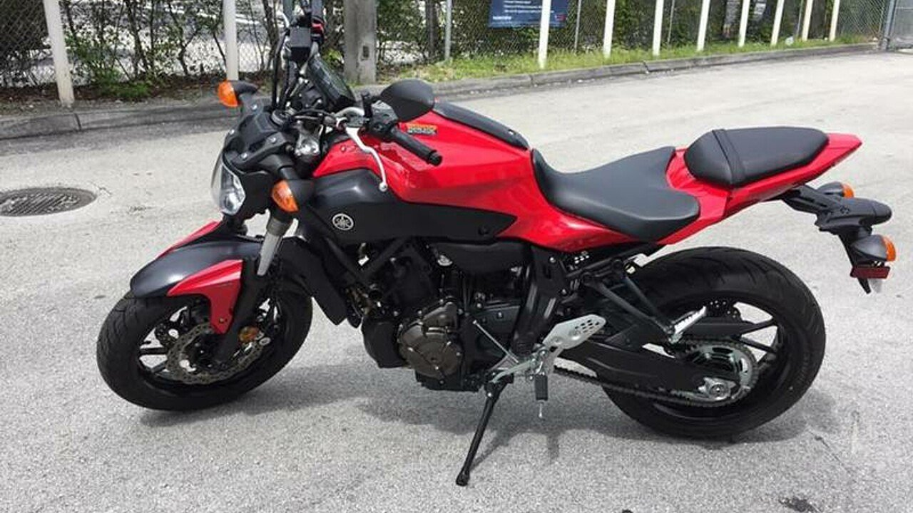 2017 Yamaha FZ-07 for sale 200486934