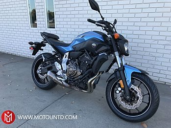 2017 Yamaha FZ-07 for sale 200499801