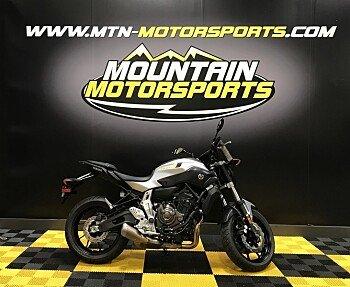 2017 Yamaha FZ-07 for sale 200537493
