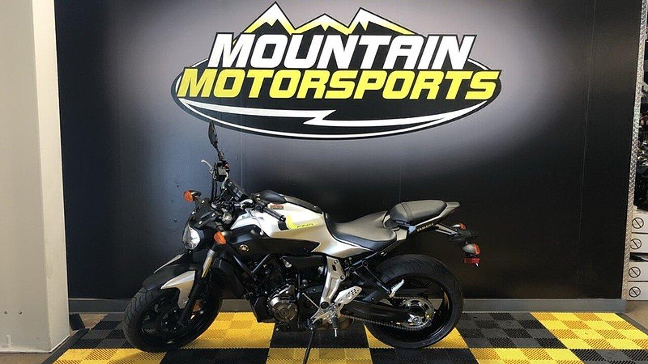 2017 Yamaha FZ-07 for sale 200593330