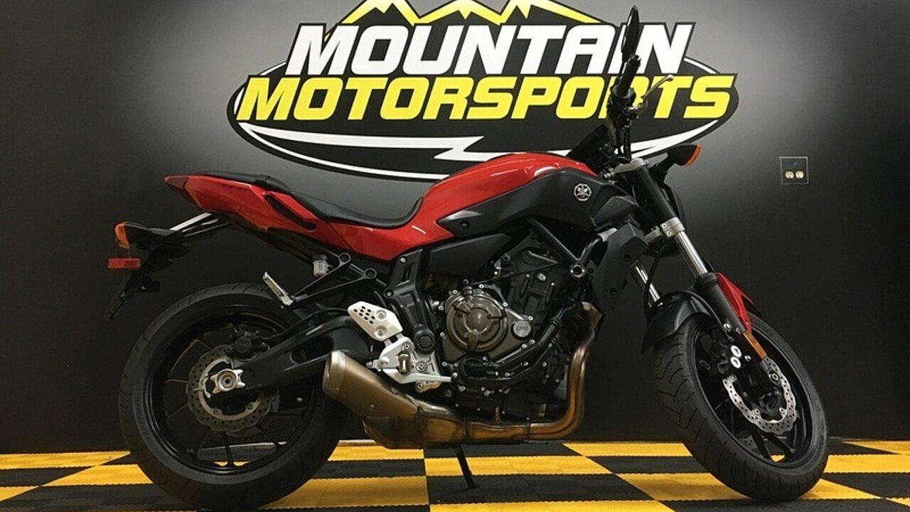 2017 Yamaha FZ-07 for sale 200593747