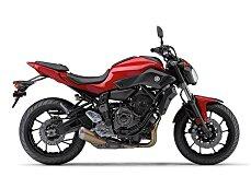 2017 Yamaha FZ-07 for sale 200510785