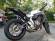 2017 Yamaha FZ-07 for sale 200613338
