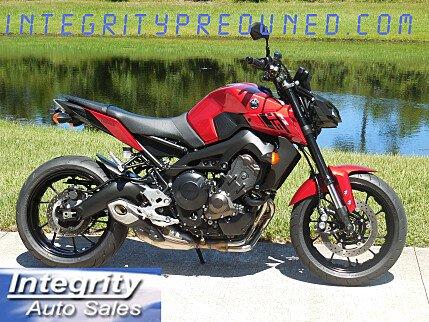 2017 Yamaha FZ-09 for sale 200617905