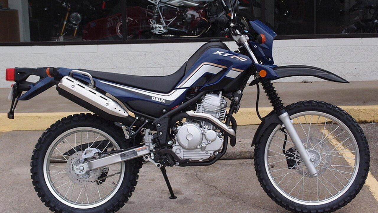 2017 Yamaha XT250 for sale 200440065
