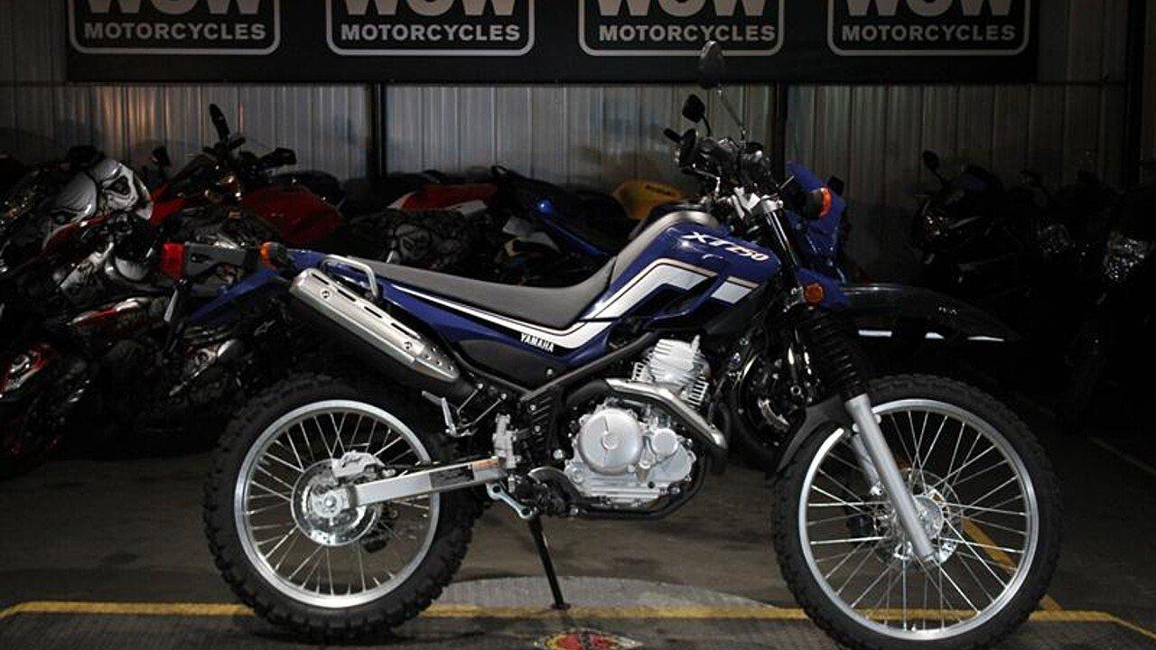 2017 Yamaha XT250 for sale 200591561