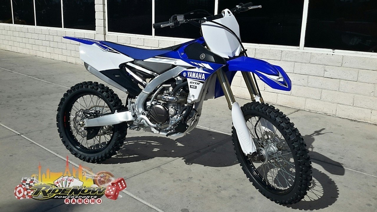 2017 Yamaha YZ250F for sale 200407375