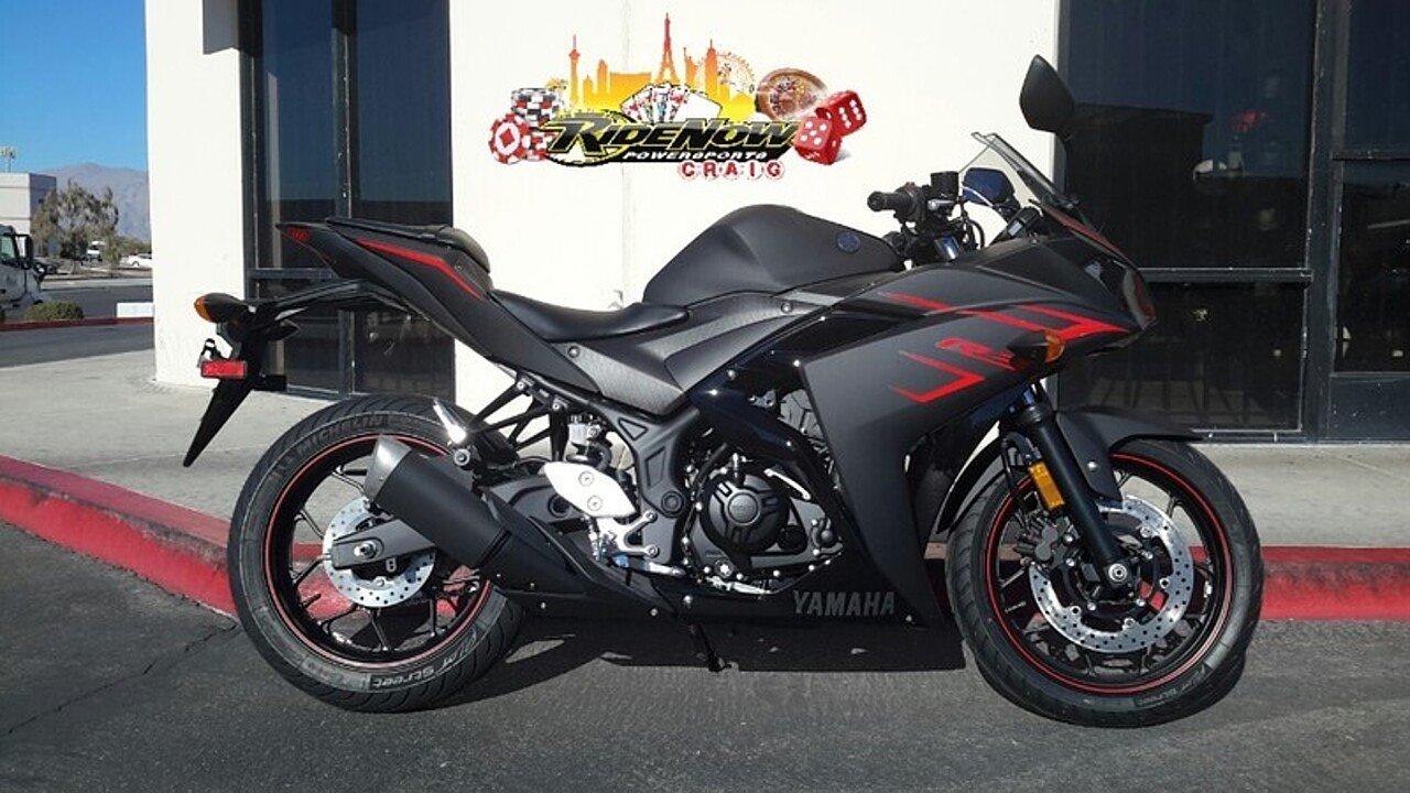 2017 Yamaha YZF-R3 for sale 200452363