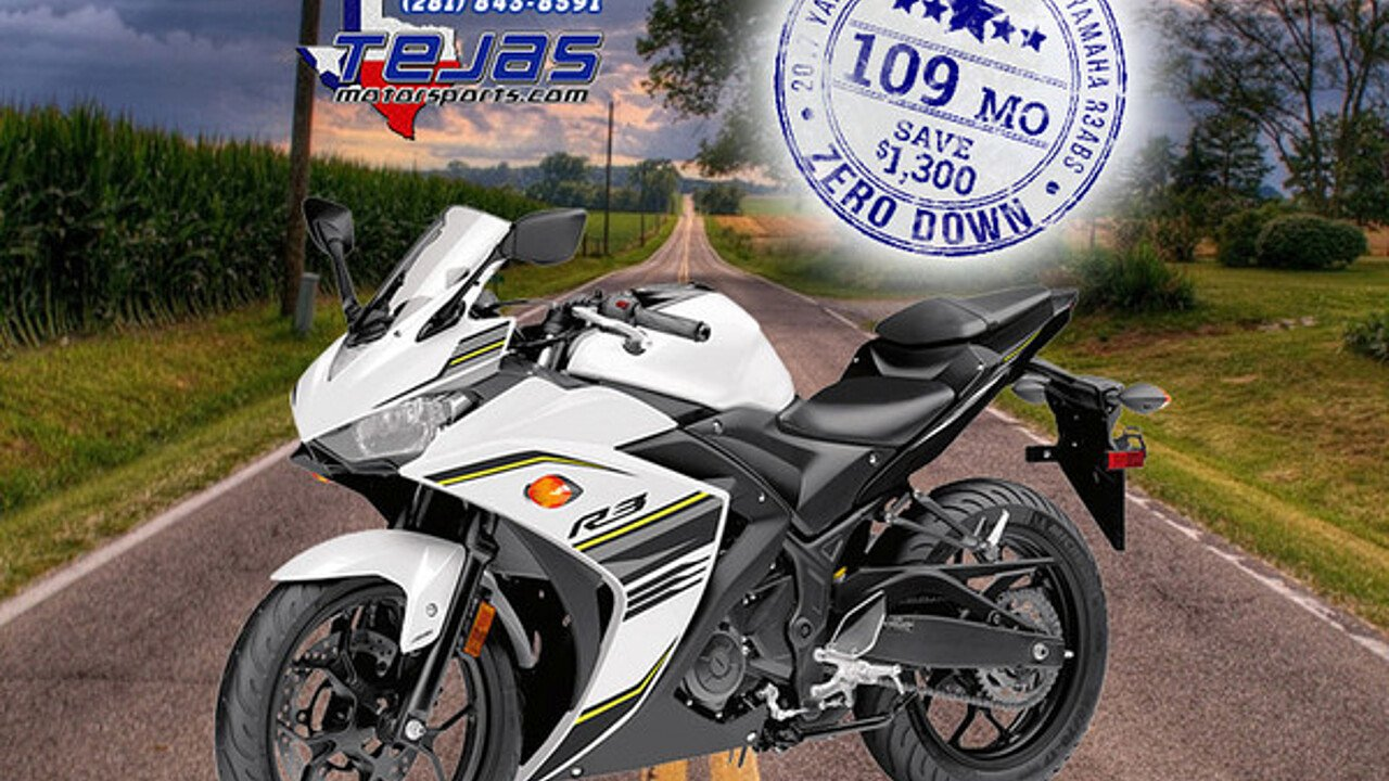 2017 Yamaha YZF-R3 for sale 200584516