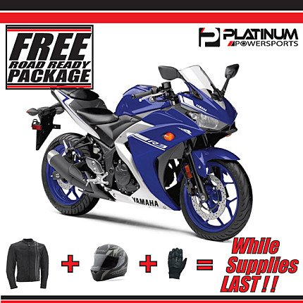 2017 Yamaha YZF-R3 for sale 200535168