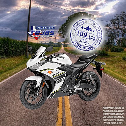 2017 Yamaha YZF-R3 for sale 200584502