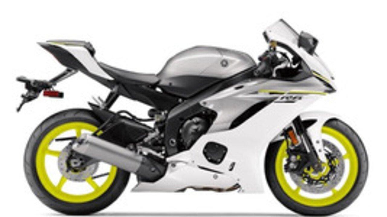 2017 Yamaha YZF-R6 for sale 200457685