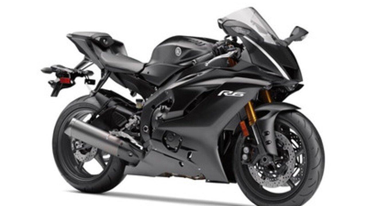2017 Yamaha YZF-R6 for sale 200462270
