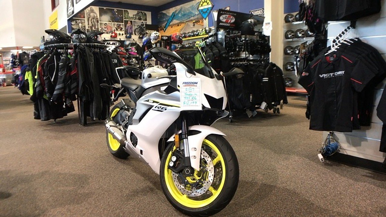 2017 Yamaha YZF-R6 for sale 200462773