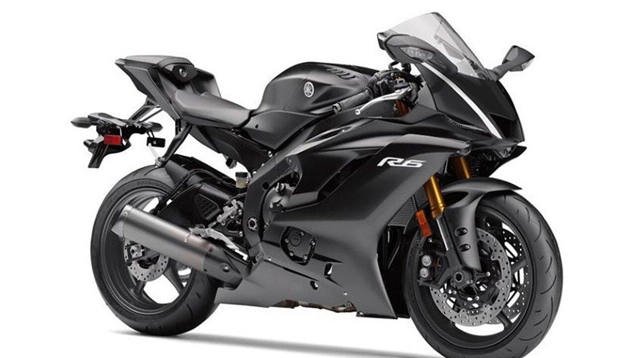 2017 Yamaha YZF-R6 for sale 200468132