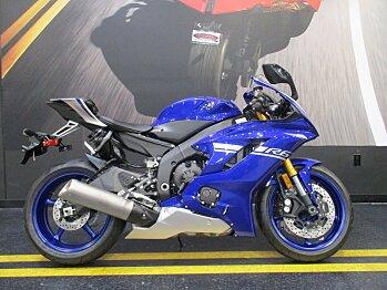 2017 Yamaha YZF-R6 for sale 200511609