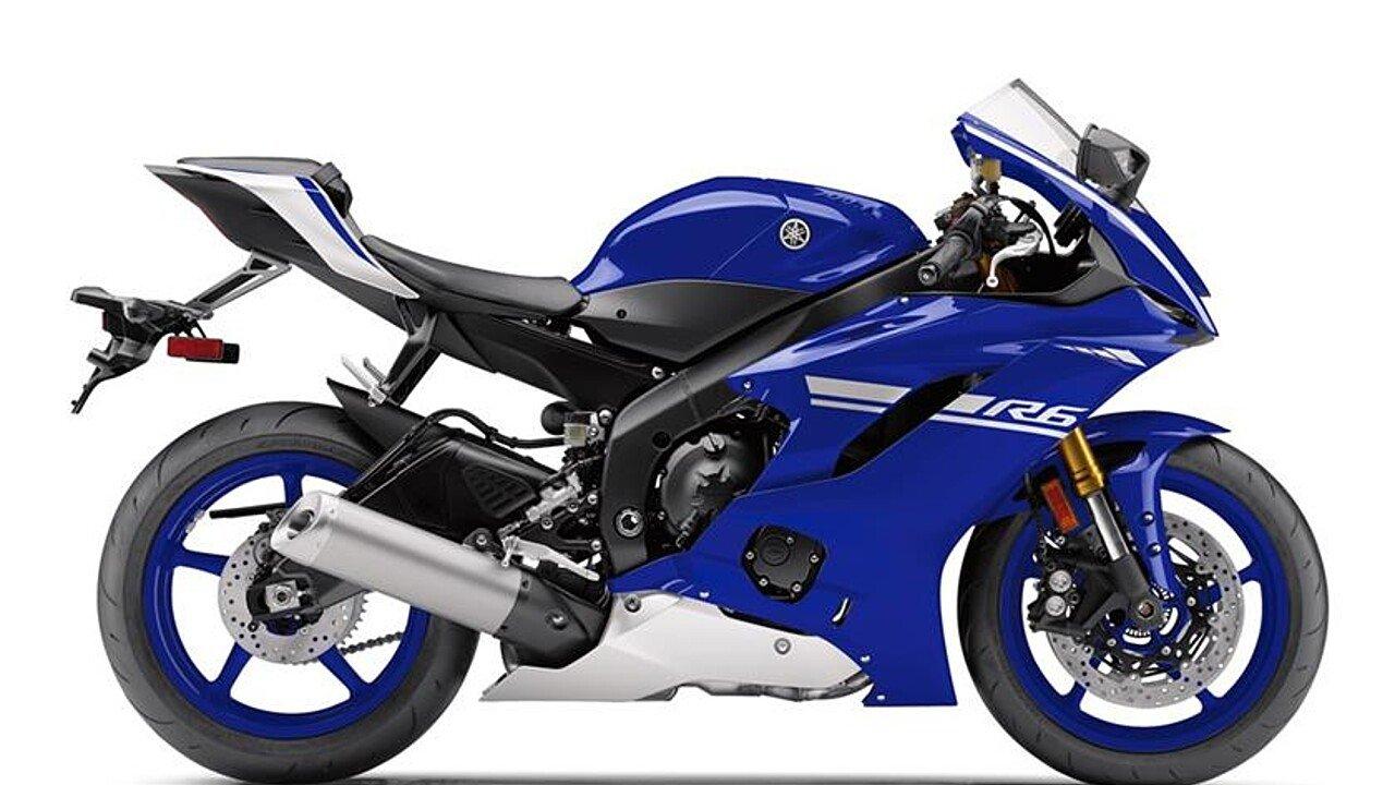 2017 Yamaha YZF-R6 for sale 200528618
